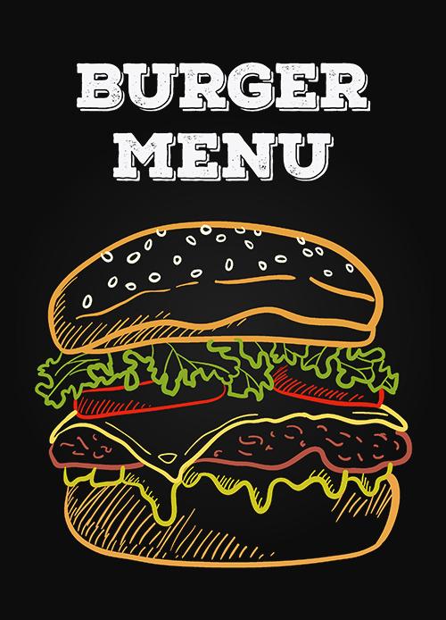Mona Burger menu